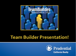 Here's a great way to make extra money with Prudential California Realty!